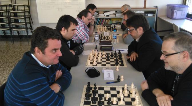 La Penya d'Escacs Mollet B incrementa l'avantatge al davant de la classificació del grup V de Tercera provincial