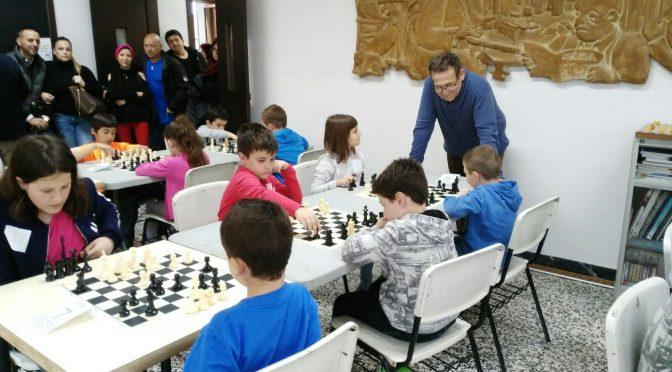 I Trobada Infantil Escola d'Escacs