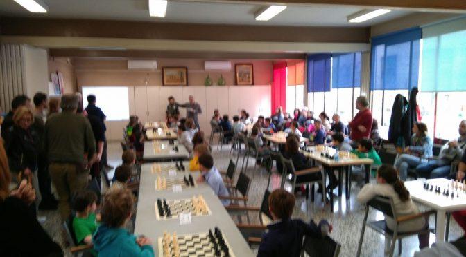 II Trobada Infantil Escola d'Escacs