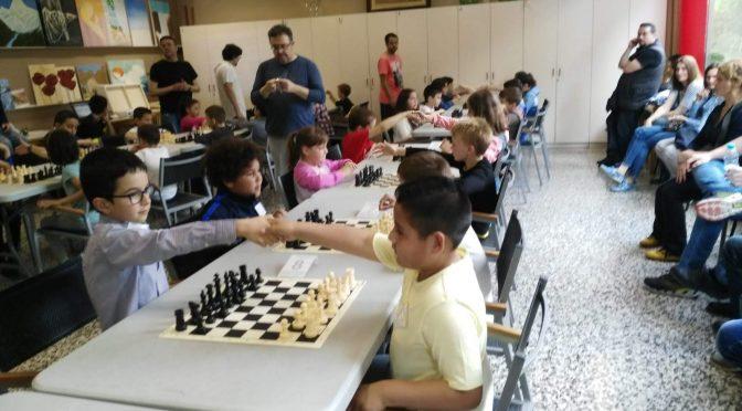III  Trobada infantil escola d'escacs